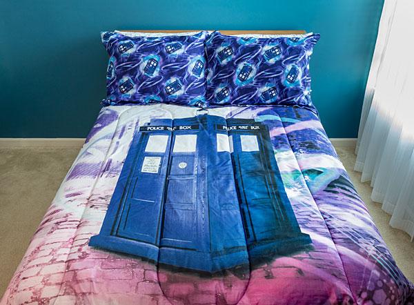 Doctor Who Sublimation Bedding Set Novelty Gift Ideas