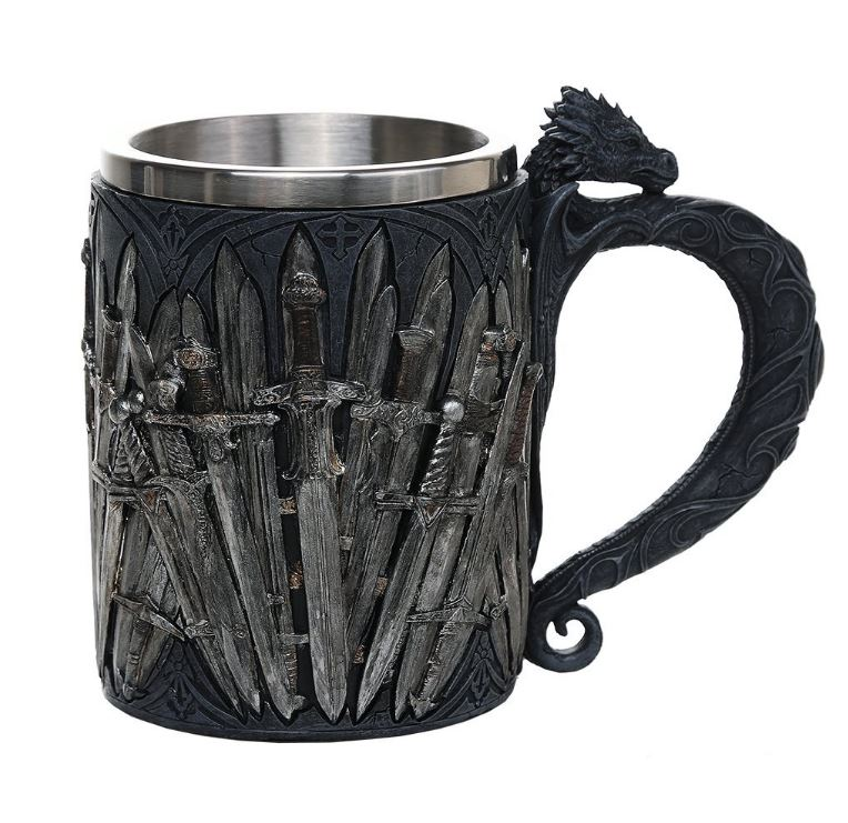 Legends of the swords game of thrones dragon tankard for Game of thrones gifts for men