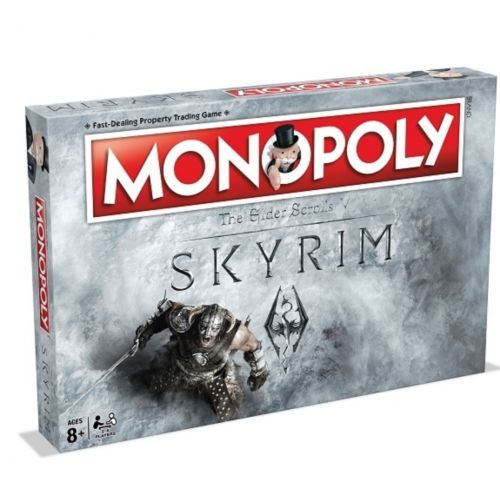 Skyrim Monopoly Novelty Gift Ideas