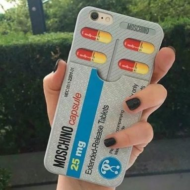 3D Capsule Pill Tablets iPhone Case