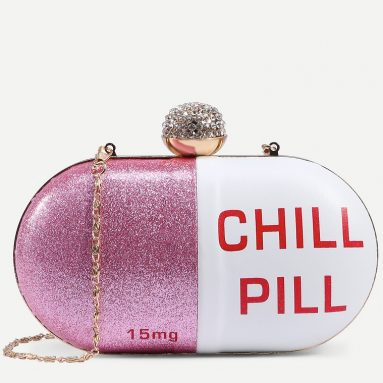 Chill Pill Clutch Bag