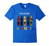 Color Me GANGSTA T-shirt