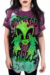 Don't be Sad Be Rad 3D Print T-shirt