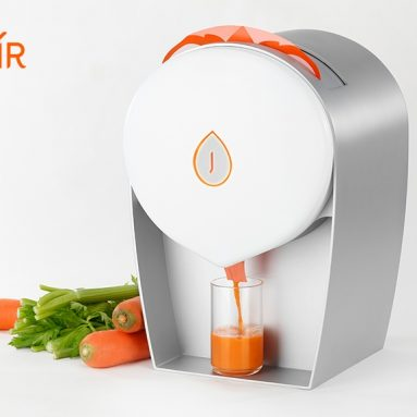 JUISIR – juicing with zero cleaning and more juice