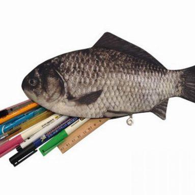 Fish Zipper Pouch