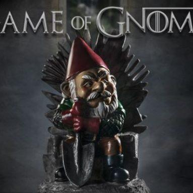 'Game of Gnomes' Garden Gnome