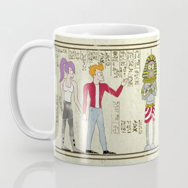 Hero-glyphics: Planet Express Mug