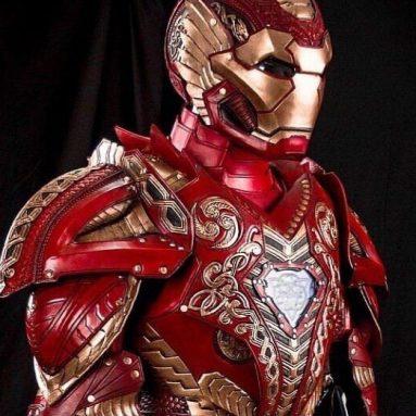 Prince Armory Asgardian Iron Man Costume