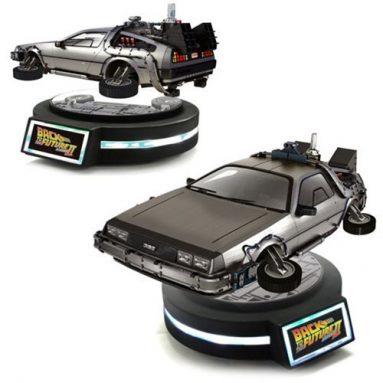 Magnetic Floating DeLorean