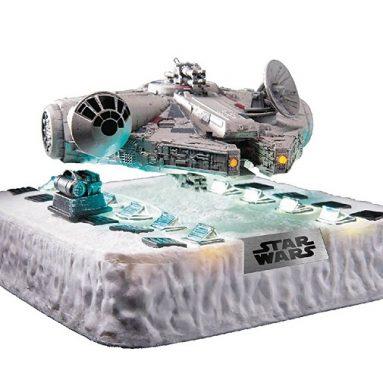 Floating Millennium Falcon