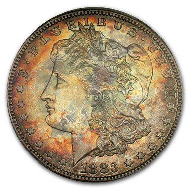 1883 S Morgan Dollar