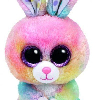 Ty Bubby Multicolor Bunny Plush