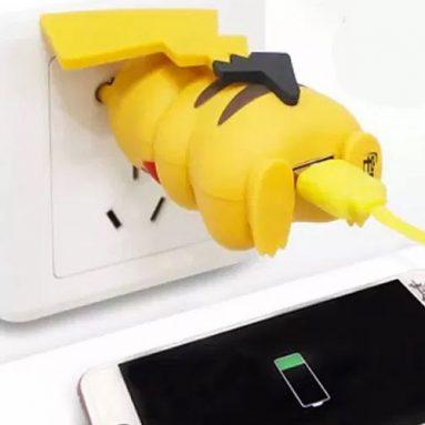 Pikachu Butt Plug Phone Charger