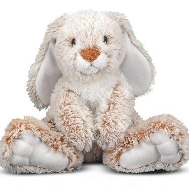 Melissa & Doug Plush Burrow Bunny Rabbit Stuffed Animal