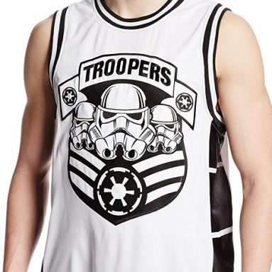 Star Wars Men's Troop Army Basketball Jersey
