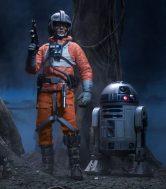 Luke Skywalker Red-Five X-wing Pilot Figure
